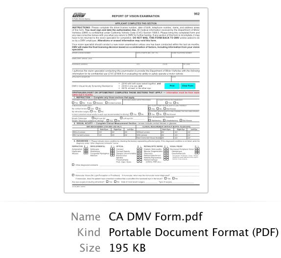 Forms Retina Orange County